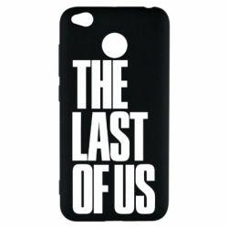 Чехол для Xiaomi Redmi 4x The Last of Us