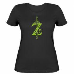 Женская футболка The Legend of Zelda Logo