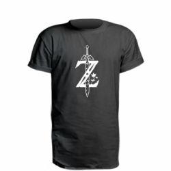 Удлиненная футболка The Legend of Zelda Logo