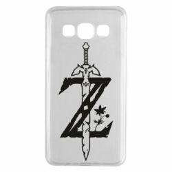 Чехол для Samsung A3 2015 The Legend of Zelda Logo