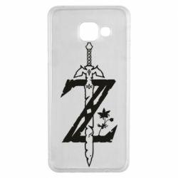 Чехол для Samsung A3 2016 The Legend of Zelda Logo