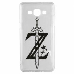 Чехол для Samsung A5 2015 The Legend of Zelda Logo