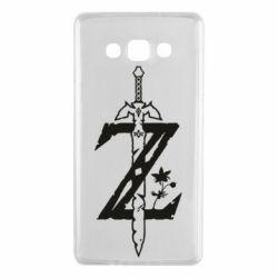 Чехол для Samsung A7 2015 The Legend of Zelda Logo