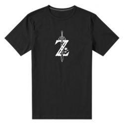 Мужская стрейчевая футболка The Legend of Zelda Logo