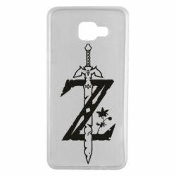 Чехол для Samsung A7 2016 The Legend of Zelda Logo