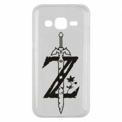 Чехол для Samsung J2 2015 The Legend of Zelda Logo