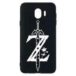 Чехол для Samsung J4 The Legend of Zelda Logo
