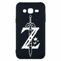 Чехол для Samsung J5 2015 The Legend of Zelda Logo