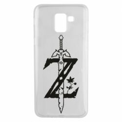 Чехол для Samsung J6 The Legend of Zelda Logo