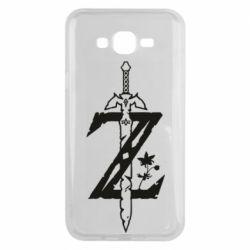Чехол для Samsung J7 2015 The Legend of Zelda Logo