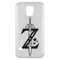 Чехол для Samsung S5 The Legend of Zelda Logo