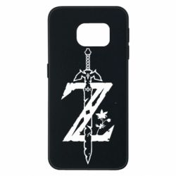 Чехол для Samsung S6 EDGE The Legend of Zelda Logo