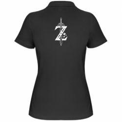 Женская футболка поло The Legend of Zelda Logo