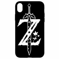 Чехол для iPhone XR The Legend of Zelda Logo
