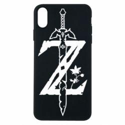 Чехол для iPhone Xs Max The Legend of Zelda Logo