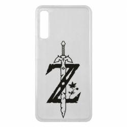 Чехол для Samsung A7 2018 The Legend of Zelda Logo
