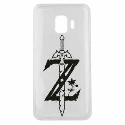 Чехол для Samsung J2 Core The Legend of Zelda Logo