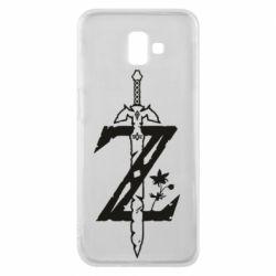 Чохол для Samsung J6 Plus 2018 The Legend of Zelda Logo