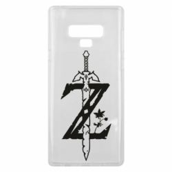 Чехол для Samsung Note 9 The Legend of Zelda Logo