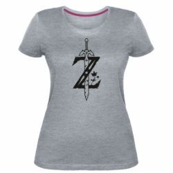 Жіноча стрейчева футболка The Legend of Zelda Logo