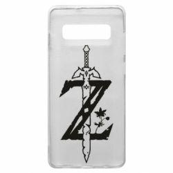 Чехол для Samsung S10+ The Legend of Zelda Logo