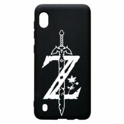 Чохол для Samsung A10 The Legend of Zelda Logo