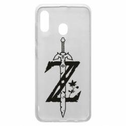 Чехол для Samsung A20 The Legend of Zelda Logo