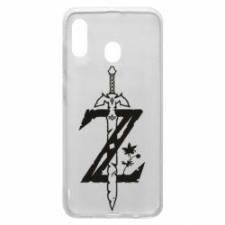 Чехол для Samsung A30 The Legend of Zelda Logo