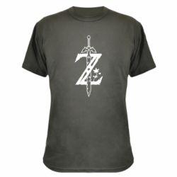 Камуфляжная футболка The Legend of Zelda Logo