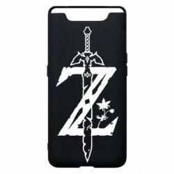 Чехол для Samsung A80 The Legend of Zelda Logo