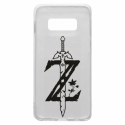 Чехол для Samsung S10e The Legend of Zelda Logo