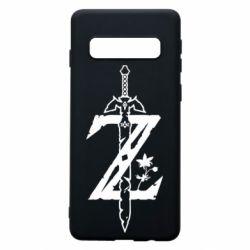 Чехол для Samsung S10 The Legend of Zelda Logo