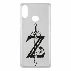 Чехол для Samsung A10s The Legend of Zelda Logo