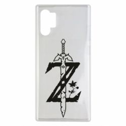 Чехол для Samsung Note 10 Plus The Legend of Zelda Logo