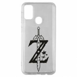 Чохол для Samsung M30s The Legend of Zelda Logo