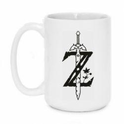 Кружка 420ml The Legend of Zelda Logo