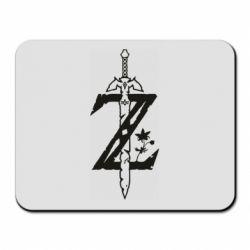 Коврик для мыши The Legend of Zelda Logo