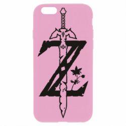 Чехол для iPhone 6/6S The Legend of Zelda Logo