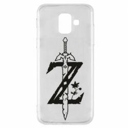 Чехол для Samsung A6 2018 The Legend of Zelda Logo