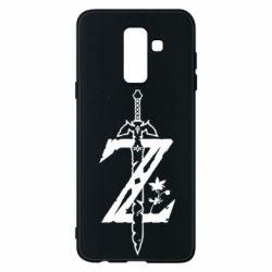 Чехол для Samsung A6+ 2018 The Legend of Zelda Logo