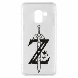 Чехол для Samsung A8 2018 The Legend of Zelda Logo