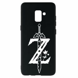 Чехол для Samsung A8+ 2018 The Legend of Zelda Logo