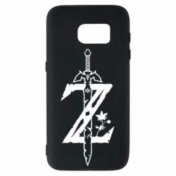 Чехол для Samsung S7 The Legend of Zelda Logo