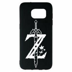 Чехол для Samsung S7 EDGE The Legend of Zelda Logo