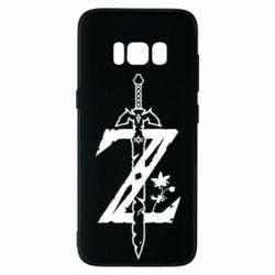 Чехол для Samsung S8 The Legend of Zelda Logo
