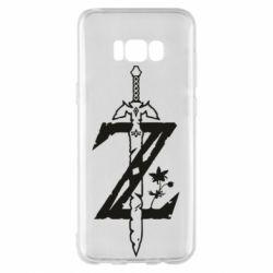 Чехол для Samsung S8+ The Legend of Zelda Logo