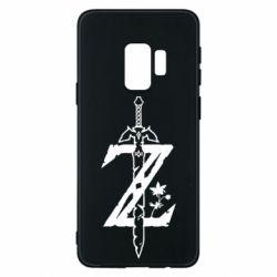 Чехол для Samsung S9 The Legend of Zelda Logo