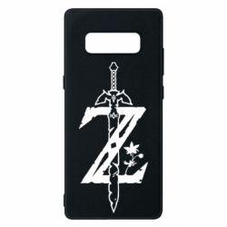 Чехол для Samsung Note 8 The Legend of Zelda Logo