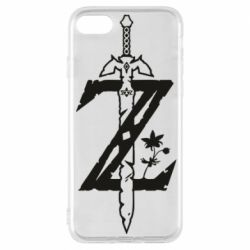 Чехол для iPhone 8 The Legend of Zelda Logo