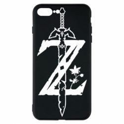 Чехол для iPhone 8 Plus The Legend of Zelda Logo